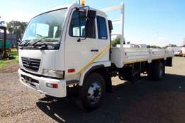 2010 Nissan Dropside UD80 with dropside body Truck