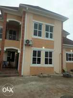 5bedrm duplex with detached Bq on a plot of land at Alagbole. (C of O