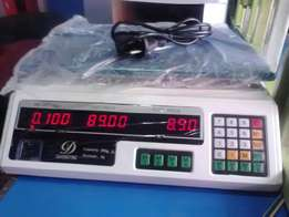 Brand new flat top digital weighing scale