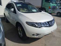 2010 Nissan Murano with roof rails