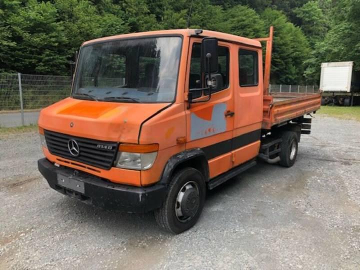 Mercedes-Benz 814 K ** Vario / Meiller / DoKa /Kipper ** - 1998