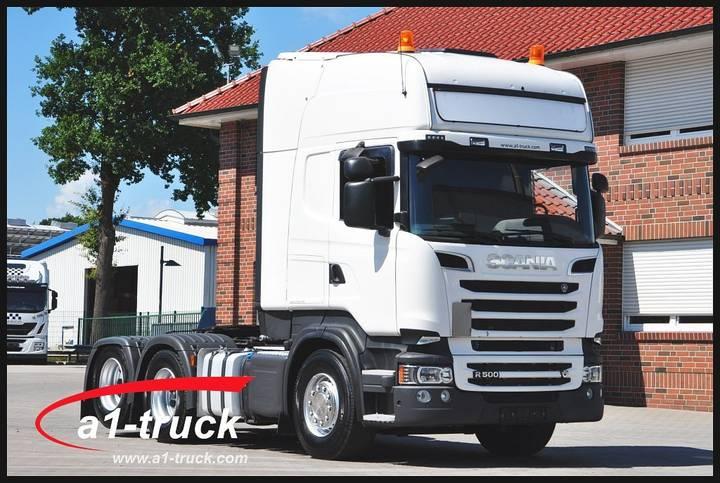 Scania R 500 6X2 V8 Xenon, Retarder - 2013