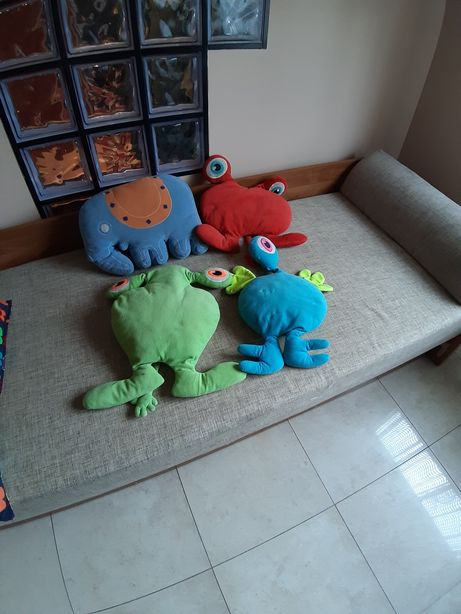 Poduszki Dla Dzieci Wózek Itp Ozdobne Ikea Potworki Słonik