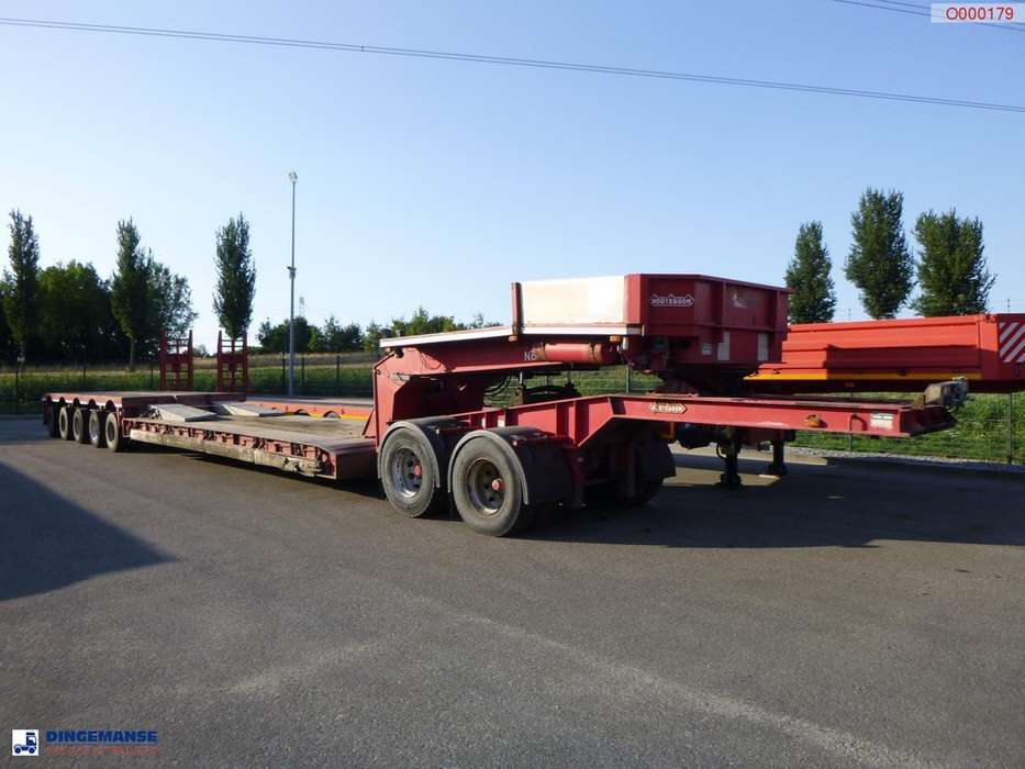 Nooteboom 5-axle lowbed trailer + dolly - 2018