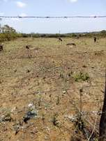2 prime acres of land touching Sagana Nyeri road before Makutano