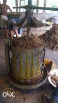 New(lest than a year) functioning and automated Palm and cassava mill