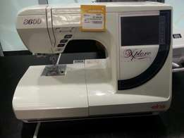 Sewing machine elna type8600