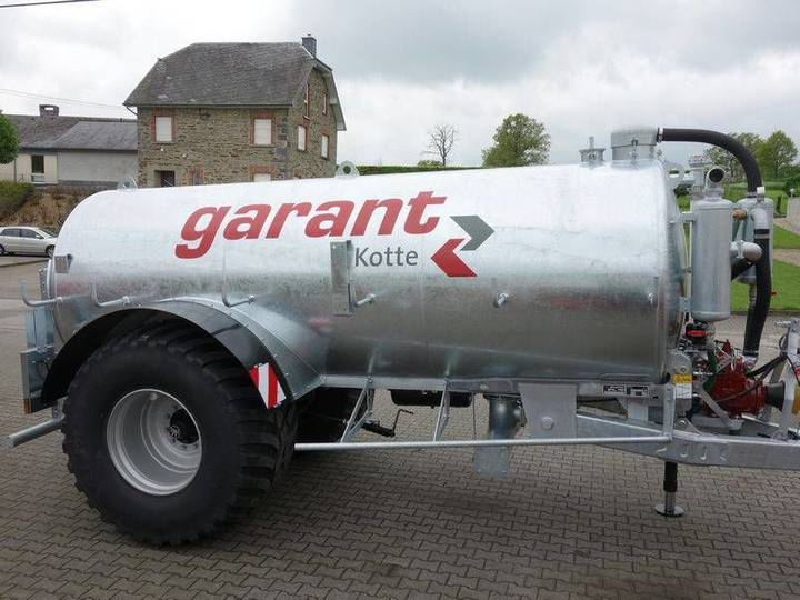 Kotte GARANT VE 12000 liquid manure spreader - 2016