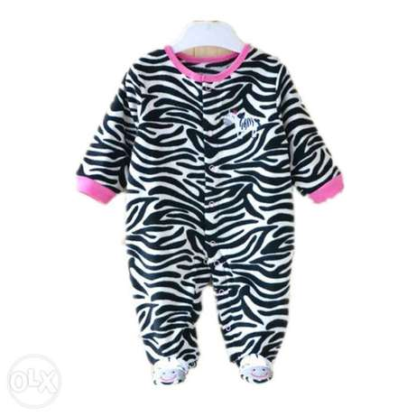 Cute baby girl Fleece Pajamas(0-3yrs) Kasarani - image 1