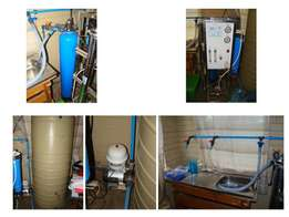 RO Water system 800GPD (Industrial)