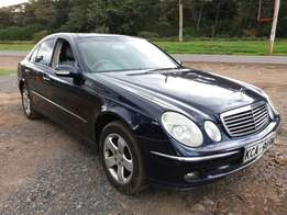 Mercedes Benz E200 With a Sunroof