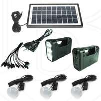GD Lite 8006A Solar System with portable USB Charging cable