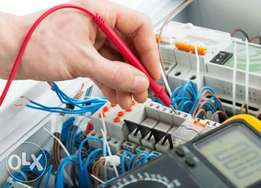 Fault finding electrician