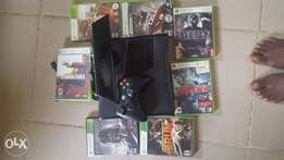 London Used Xbox 360 with full accessories and loads of games.