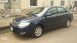 Toyota Corolla 2006 sound use from first user for sale 1,300,000