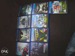 Ps4 games forsale or trade