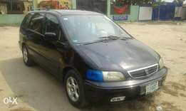 Honda Odyssey shuttle Registered