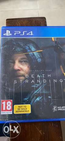Death Stranding Used Only Once New Bought sealed