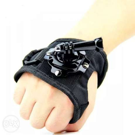 360 Degree Swivel Rotation Hand Strap Belt Tripod Mount For GoPro.
