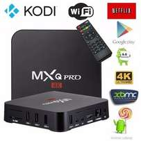 MXQ 4K android box - Brand New in shop.