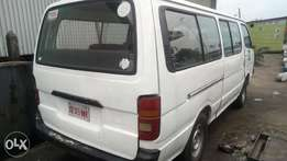Very very sound and strong Toyota hiace bus with 2RZ engine
