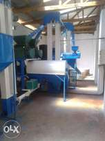 self loading grade 1 maize milling plant.