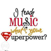 Need a Music Instructor for your school or child?