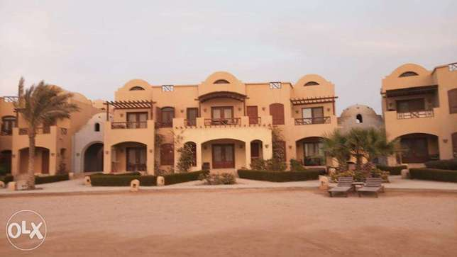 rent in el gouna 2 BR with pool