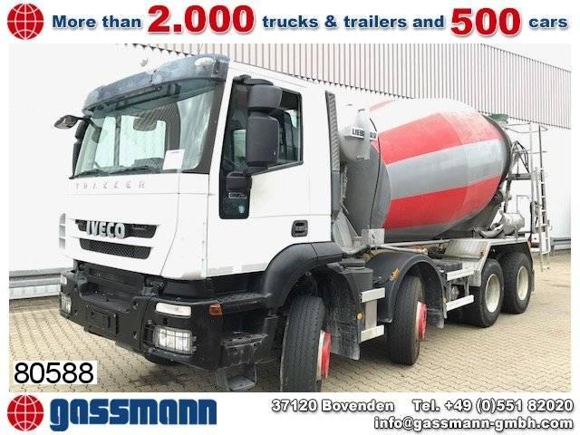 Iveco trakker ad340t41 8x4 - 2012