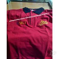 Customed Polos. call NUMBER on picture.