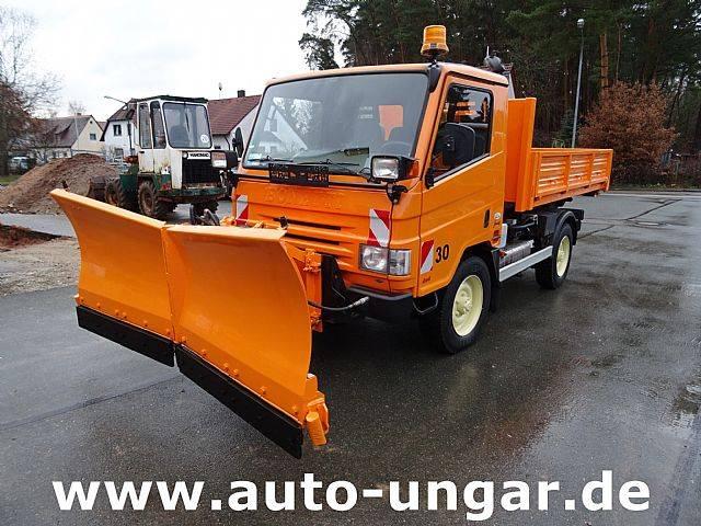 Multicar Bonetti FX100 50E5 Abrollkipper 4x4 Winterdienst - 2011