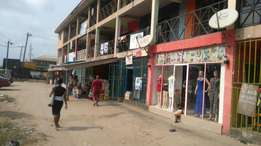 36 unit lockup shops on two storey building for sale at choba uniport