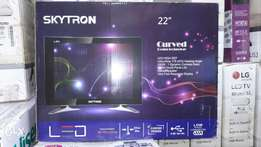 "Skytron 22"" curved digital tv"