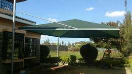 OFFER. 2 car parking shade non waterproof at 85,000 kshs only