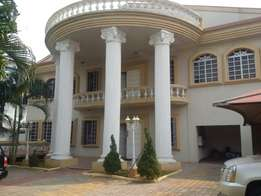 A neat 6 bedroom Mansion with penthouse with 4rm BQ