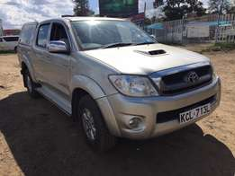 Toyota hilux 2010 model 3000cc manual Diesel engine