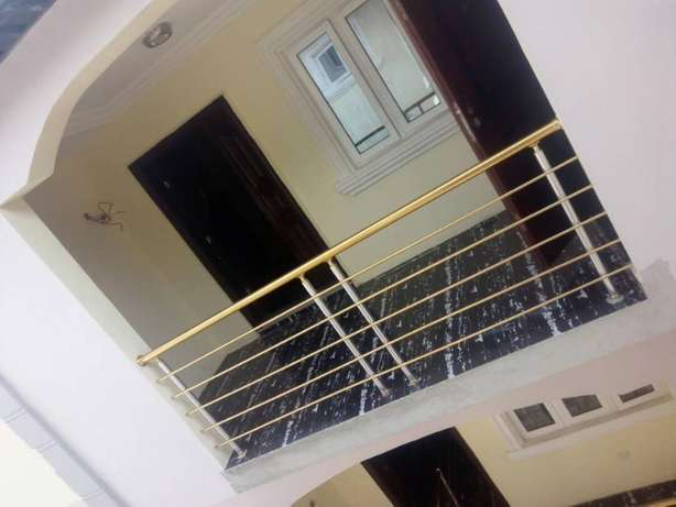 Lovely Newly built 3 bedroom flat all round tiles floor pop at Baruwa Alimosho - image 2