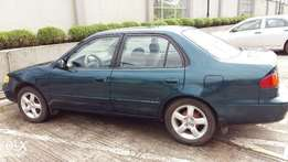 First Body Toyota Corolla 2000