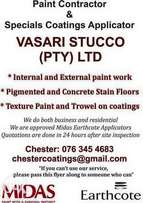 Painting contractor for both interior and exterior
