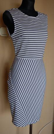 4033cdfada Sukienka w paski marynarskie amisu new yorker m l Zawiercie - image 2