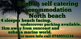 Durban self catering accommodation North beach