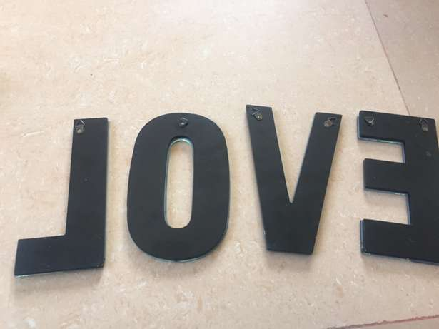 LOVE letters for wall decor Mnazi moja - image 6