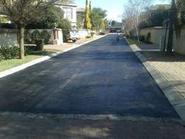 Tar surfacing and paving Residential and industrial , complexes etc