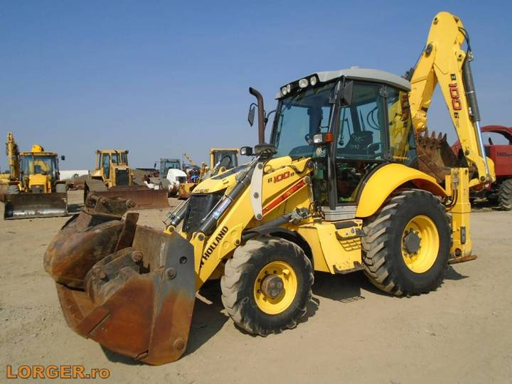 New Holland B 100 B - 2012