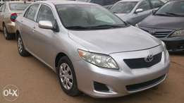 Sharp tokunbo 2009 toyota corolla for sale