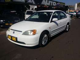 2001 Honda civic 170i Automatic