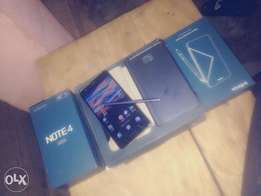Infinix note 4pro 3gig ram 32gig rom with xpen