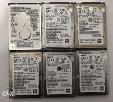 HGST Laptop hard drives 1.0TB size