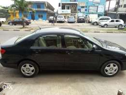 Foreign used car corolla