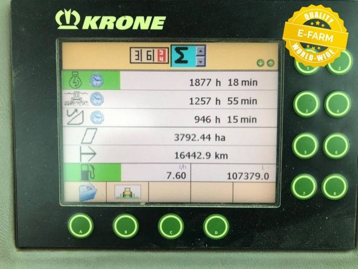 Krone big x 500 - 2008